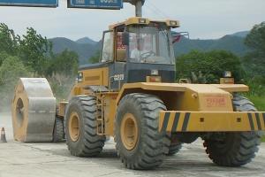 郑州五边形冲击压路机